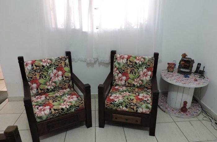 Almofadas Feita Sob Medida em  Tecido Impermeável Santa Marta Preto
