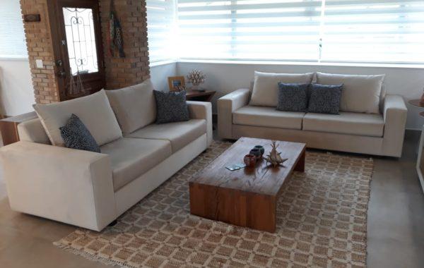 Reforma de sofás de 2 lugares no tecido Veludo